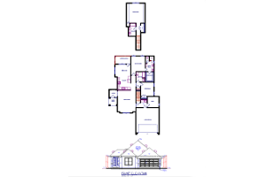 S GENTRY Custom Floor Plans - Patio Plan